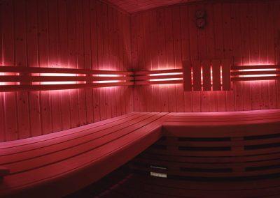 Farblicht-Sauna