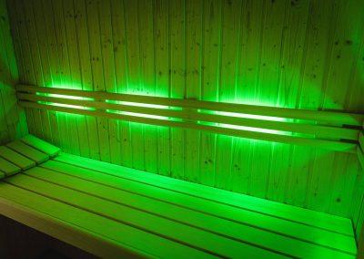 Sauna-Farblicht