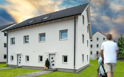 Aktuell im Bau – Doppelhaushälften in Pirna